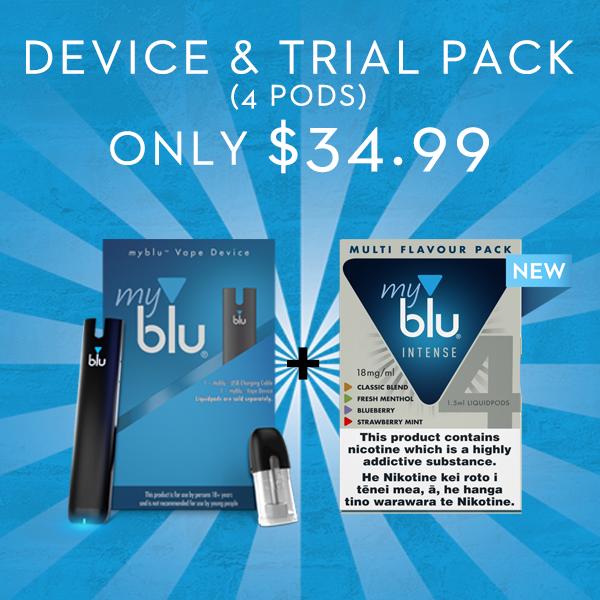 myblu multi pack starter kit